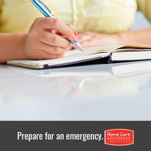 Emergency Checklist for Seniors
