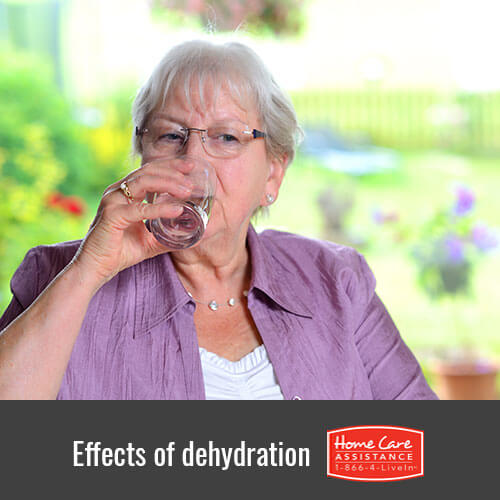 How Seniors are Affected by Dehydration