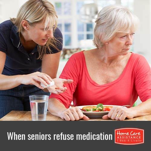 What to Do When Seniors Refuse Medications in Toronto, CAN