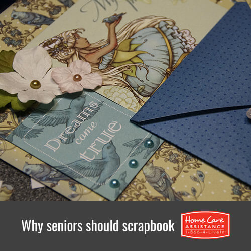 Why Scrapbooking Is Healthy for Seniors in Toronto, CAN