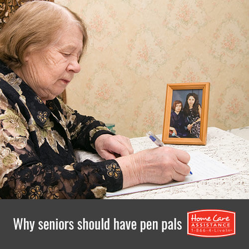 Why the Elderly Should Have Pen Pals in Toronto, CAN