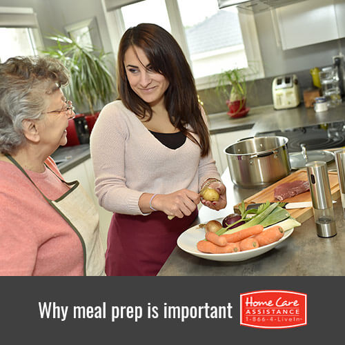 Why Meal Preparation Is an Important Part of Caregiving in Toronto, CAN