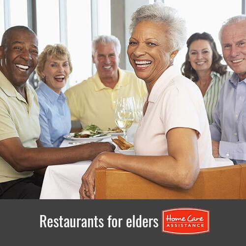 Top 4 Restaurants In Toronto With Senior Friendly Menus