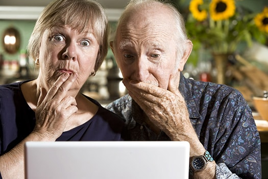 Preventing Seniors from Dangers of Internet in Toronto, ON
