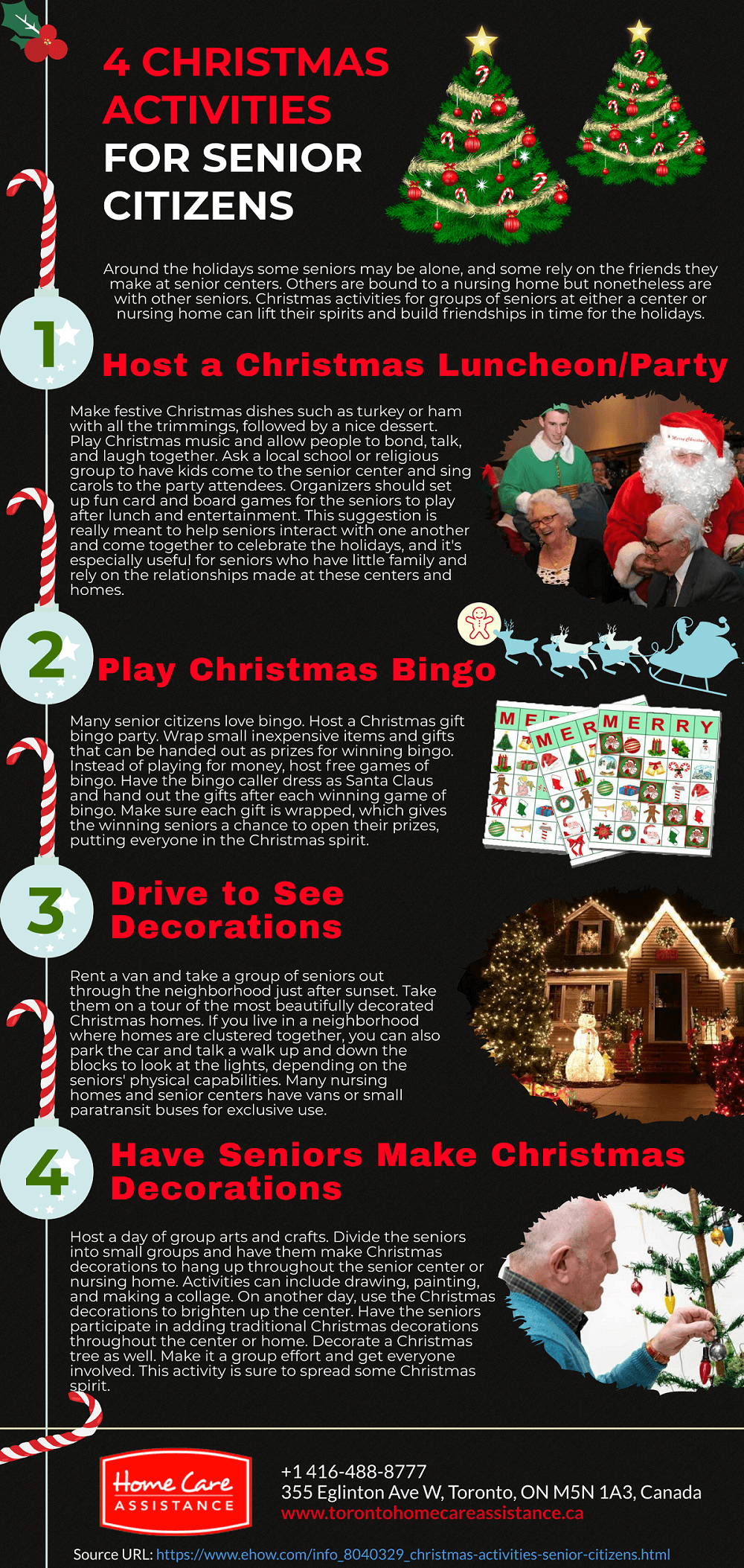 4 Christmas Activities for Senior Citizens [Infographic]